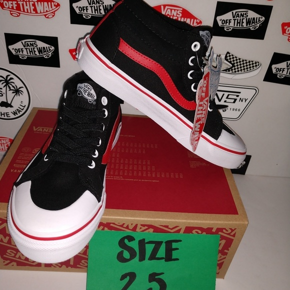 7e2f04f70a VANS RACER MID SIZE 2.5 YOUTH